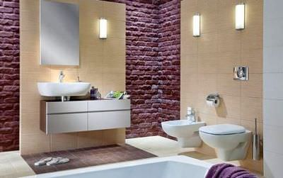 Материалы для ванной комнаты