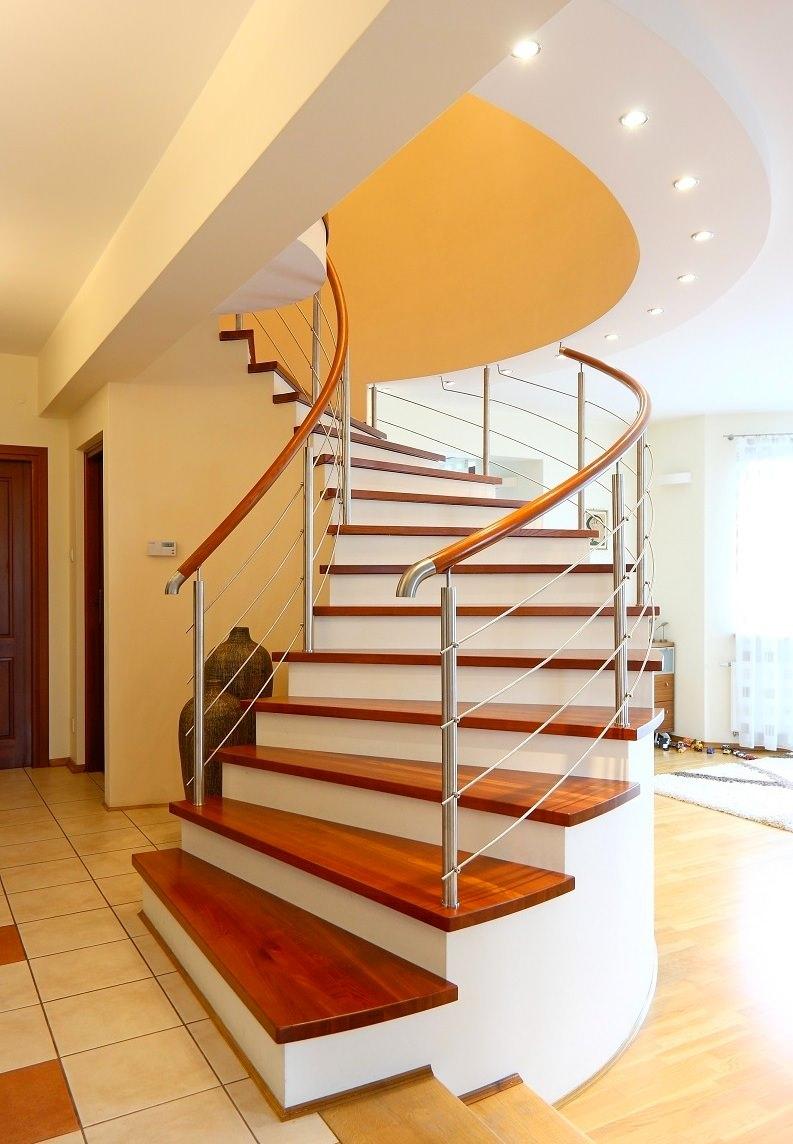 Как своими руками сделать деревянную винтовую лестницу на второй этаж