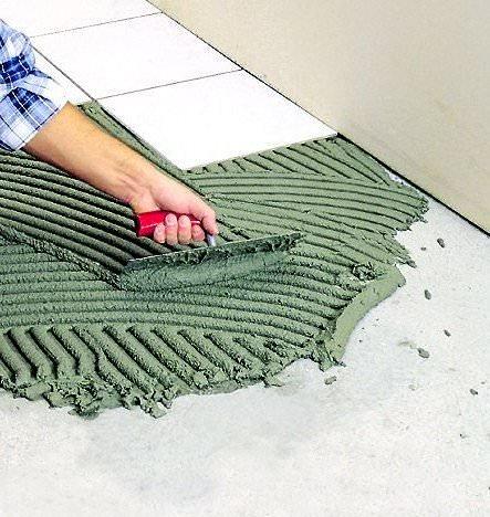 Как выбрать клей для керамической плитки