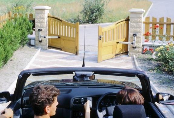 Механизм автоматического открывания ворот