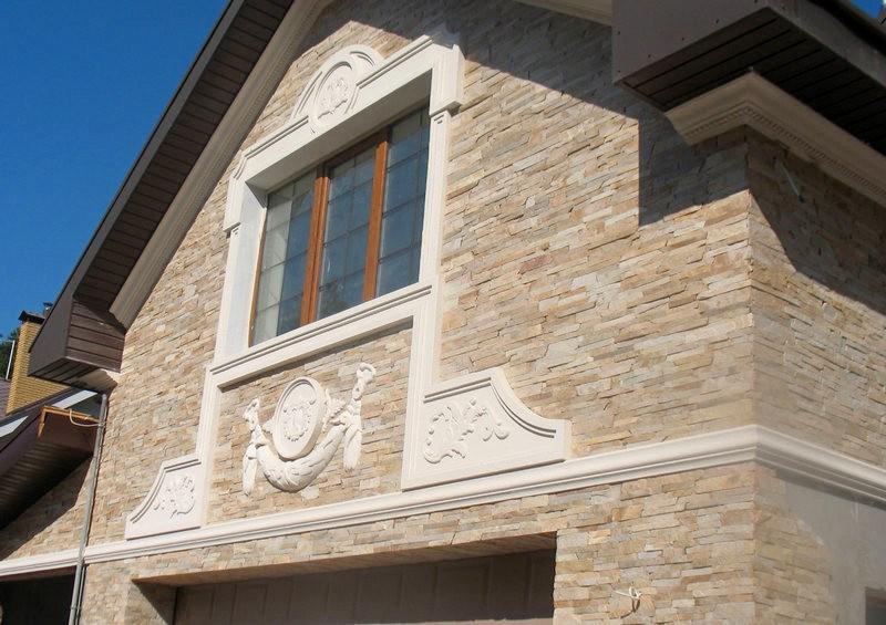 Из чего изготавливаются элементы фасадного декора