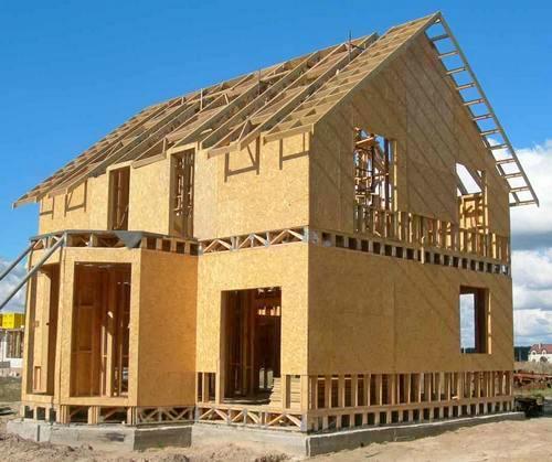 О каркасной технологии строительства