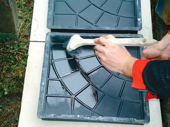 Силиконовые формы для плитки