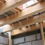 Деревянные перекрытия домов
