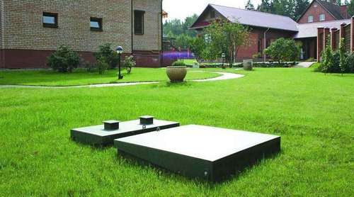 Канализация загородного дома (выгребная яма)
