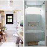 Необычные решения для небольших ванных комнат