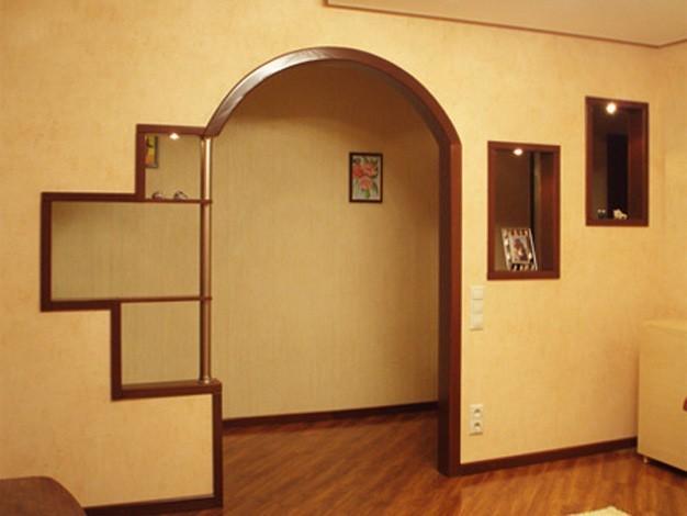 Дверная арка своими руками