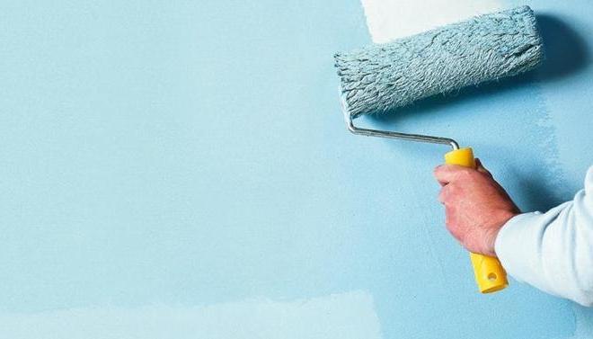 Финишная покраска стен и потолка