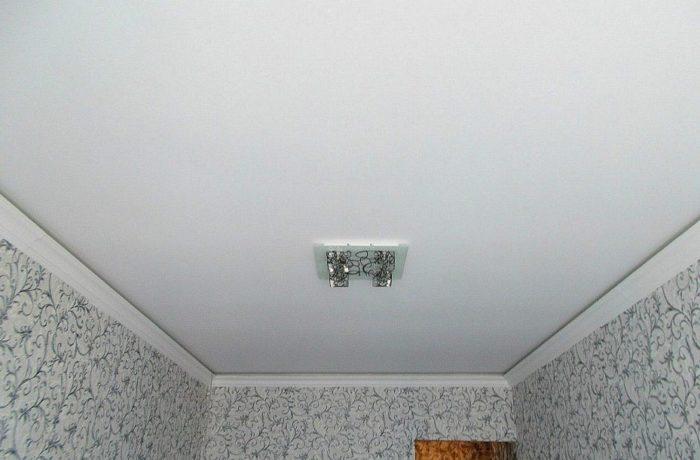Потолок натяжной из ткани