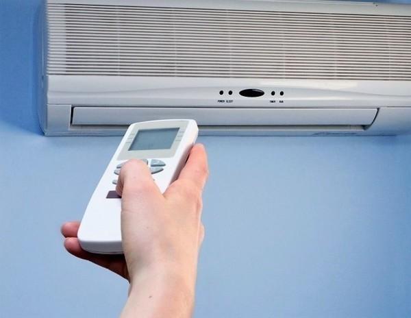 Управление кондиционером и температурой кондиционера