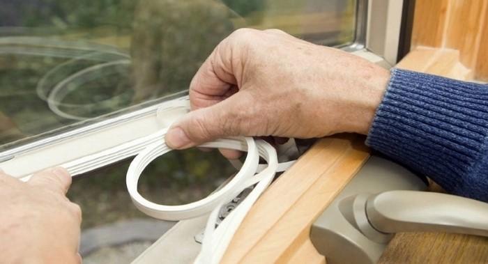 Утепляем пластиковые окна если продувает