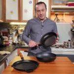 Удобные сковороды с антипригарным PTFE — покрытием