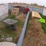 Дренажная канализация частного дома своими руками