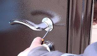 Как установить стальную дверь своими руками