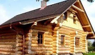 Как построить деревянный коттедж