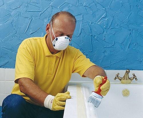 Как самостоятельно провести реставрацию ванны